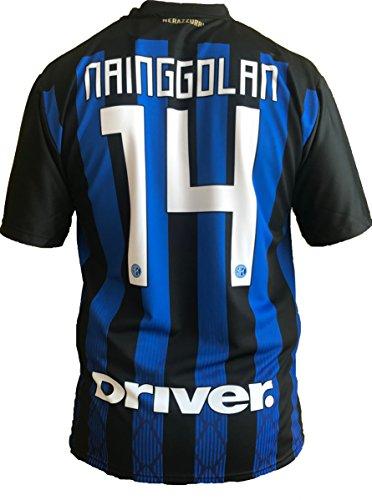 Trikot für Fußball, Inter F.C, Radja Nainggolan, offizielle Replik, für Erwachsene (Größe M, L, Xlarge), blau, Talla 8 años