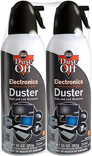Dust-Off Disposable Compressed Gas Duster, 10 oz - Pack...
