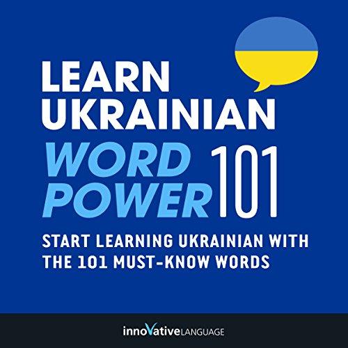 Learn Ukrainian - Word Power 101 audiobook cover art