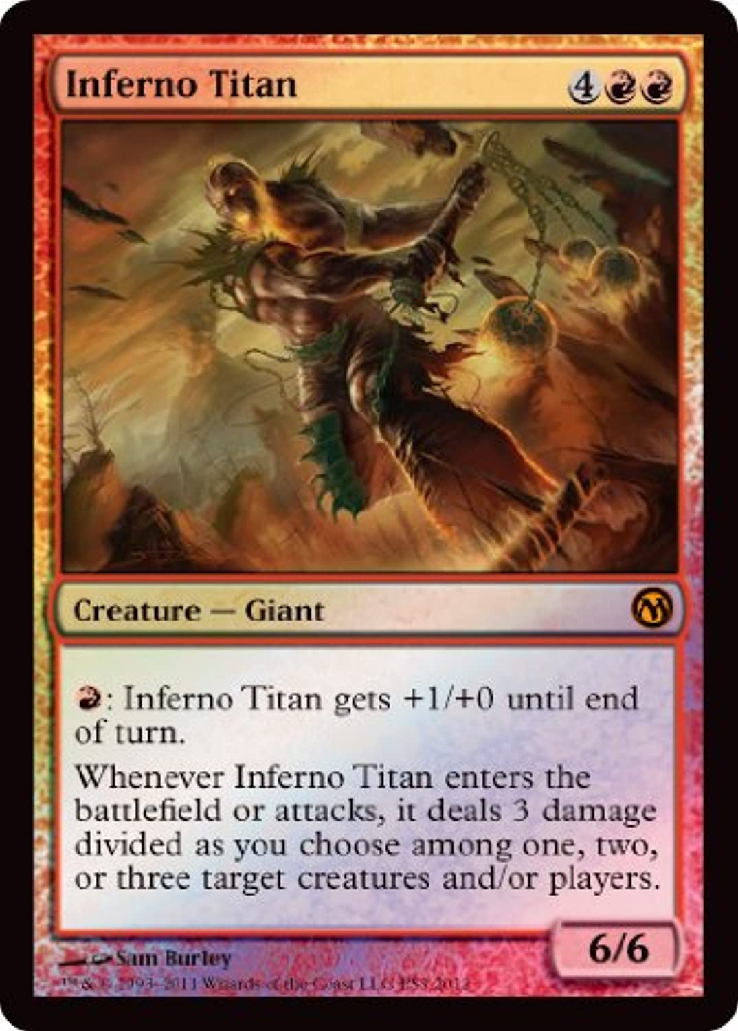 Magic  the Gathering - Inferno Titan - Unique & Misc. Promos