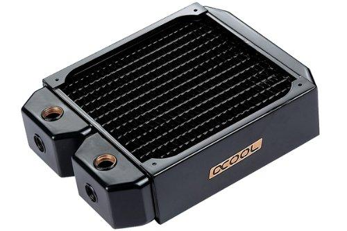 Alphacool 14168 NexXxoS XT45 Full Copper Radiator - CPU Wasserkühlung - 140mm, Kupfer / Schwarz