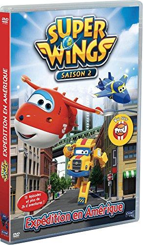 Super wings, saison 2, vol. 3 : expédition en amérique, 13 épisodes [FR Import]