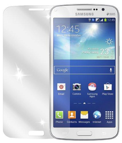 dipos I 2X Schutzfolie klar kompatibel mit Samsung Galaxy Grand Neo Folie Bildschirmschutzfolie