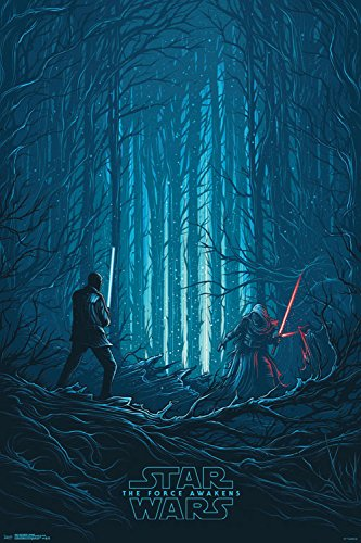 Trends International Star Wars the Force Awakens Standoff Collector's Edition Wall Poster 24