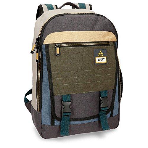 "Adept Camper Anpassbarer Laptop-Rucksack Mehrfarbig 32x42x16 cms Polyester 13,3"" 21.5L"