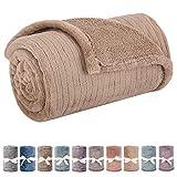 Baby Blanket or Pet Blanket, Comfy Soft Warm Blankets...