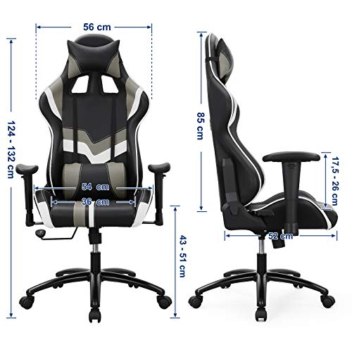 SONGMICS Bürostuhl Gaming Stuhl Bild 6*