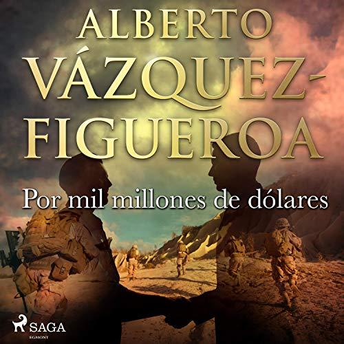 Diseño de la portada del título Por mil millones de dólares