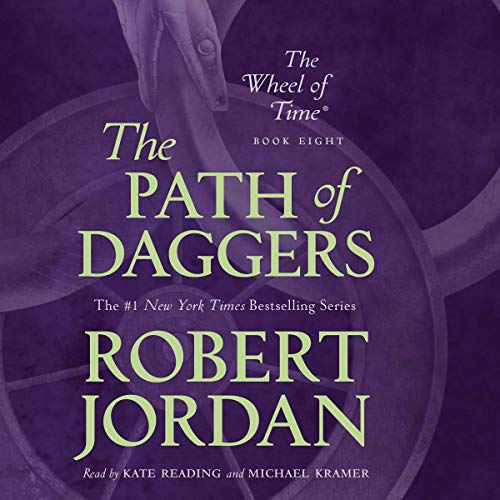 Path of Daggers audiobook cover art