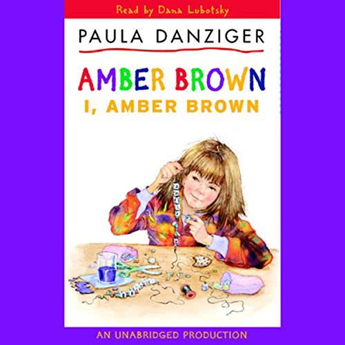I, Amber Brown audiobook cover art