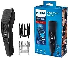 Maszynka do strzyżenia włosów Philips z serii 3000 - Łatwe, równe strzyżenie - Nie wymaga konserwacji - 13 ustawień...