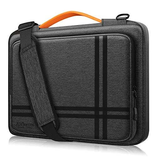 Alfheim Funda para portátil de 15,6 a 16 Pulgadas, maletín Resistente a los Golpes con asa y Bolsillo para Accesorios, Bolso de Hombro liviano y Duradero con protección de 360 °