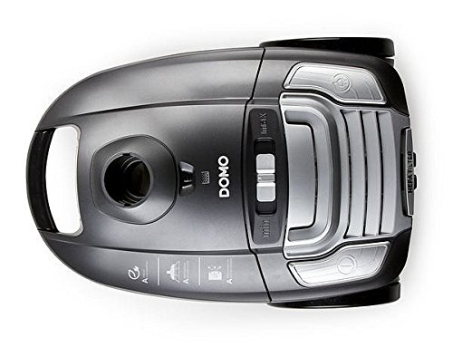 Domo DO 7285 S DO7285S Staubsauger ECO, Kunststoff Metall, 3 liters, Schwarz, Grau