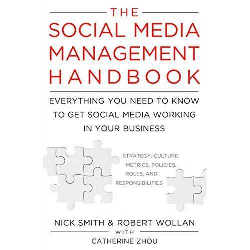 The Social Media Management Handbook audiobook cover art