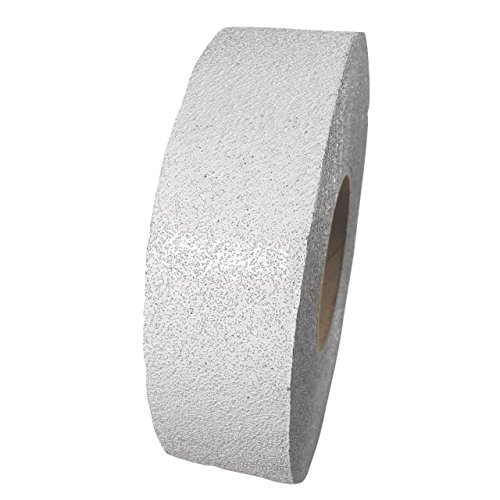 ifloortape White Reflective Foil Pavement Marking Tape Conforms to Asphalt Concrete Surface 2 Inch x 108 Foot Roll