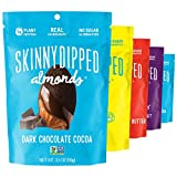 SKINNYDIPPED Fan Favorites Almond Variety Pack, 3.5 oz Bags, 5 Count from SKINNYDIPPED ALMONDS