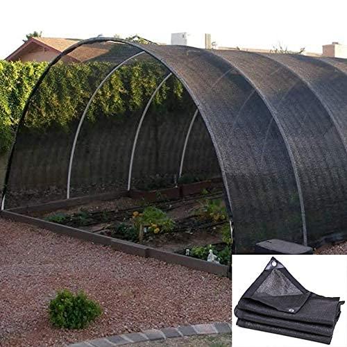 ACEMIC Sonnenschutznetz,Gartenschirmnetze,Gewächshaus-Schattensegel,UV-beständiges Schattentuch,Sonnenschutz-Mesh-Plane,anpassbar,5x5m