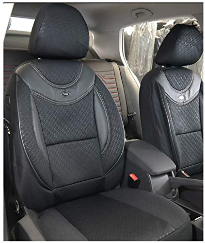 Maß Sitzbezüge kompatibel mit Suzuki Jimny 2 Fahrer & Beifahrer ab 2018 Farbnummer: G102