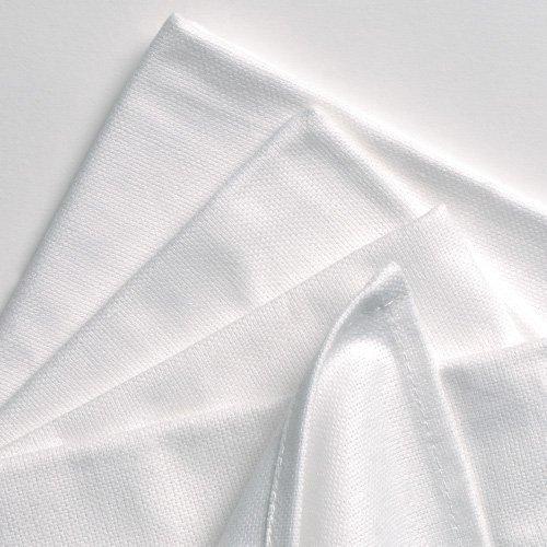 aztex Geschirrtücher aus Baumwolle, 100% Baumwolle, ideal zum Transferdrucken, Reinigen und Verwenden in der Küche, 6er-Pack, weiß