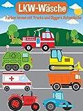 LKW-Wäsche - Farben lernen mit Trucks und Diggers Autowäsche [OV]