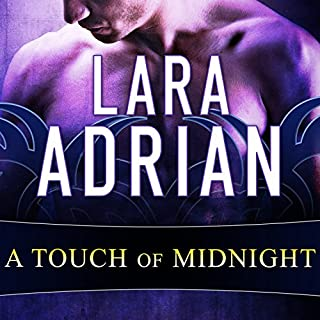 A Touch of Midnight audiobook cover art