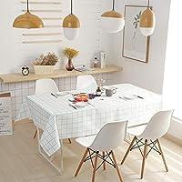 テーブルクロス 防水・耐油リビングルームダイニングルームファブリック印刷テーブルクロスコットンとリネン肥厚テーブルクロス (Color : B, Size : 140*140CM)