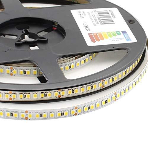 Tira LED Samsung SMD2835, DC24V, 5m (210Led-m), 110W, CRI 95 - IP20, Blanco frío