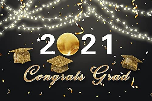 Mail order YongFoto 5x4ft 2021 Class Graduation Go for favorite Photography Backdrop