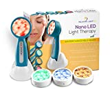 Rejuven Light 2.0 LED Light therapy w/ 4 Interchangeable heads Anti aging device, skin rejuvenation, lightens dark spots, promotes collagen and reduce wrinkles and fine lines (Rejuven Light 2.0)
