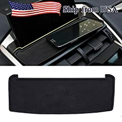 The Dashboard Cell Phone holder is Suitable for Most Kind of Cell Phones or GPS devices Anti-slip Cell Phone Soft Pad Mat is Suitable for LEXUS NX200T NX300H 2015 2016 The Silicone Pad Not Only a Card Dashboard Cell Phone Holder,Also a Organizer to K...