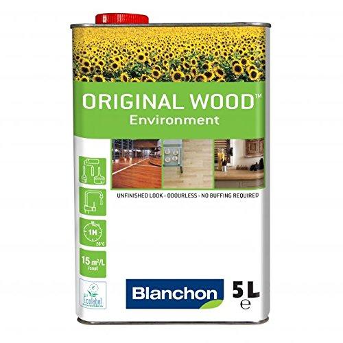 Huile d'environnement Blanchon pour bois - Bois brut - 5 litres