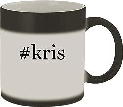 #kris - Ceramic Hashtag Matte Black Color Changing Mug, Matte Black