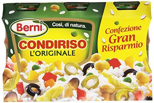 Condiriso - L'Originale, Condimento Vegetale Per Insalate Di Riso, Confezione Da 3 Vasetti Da 285G - 855 G