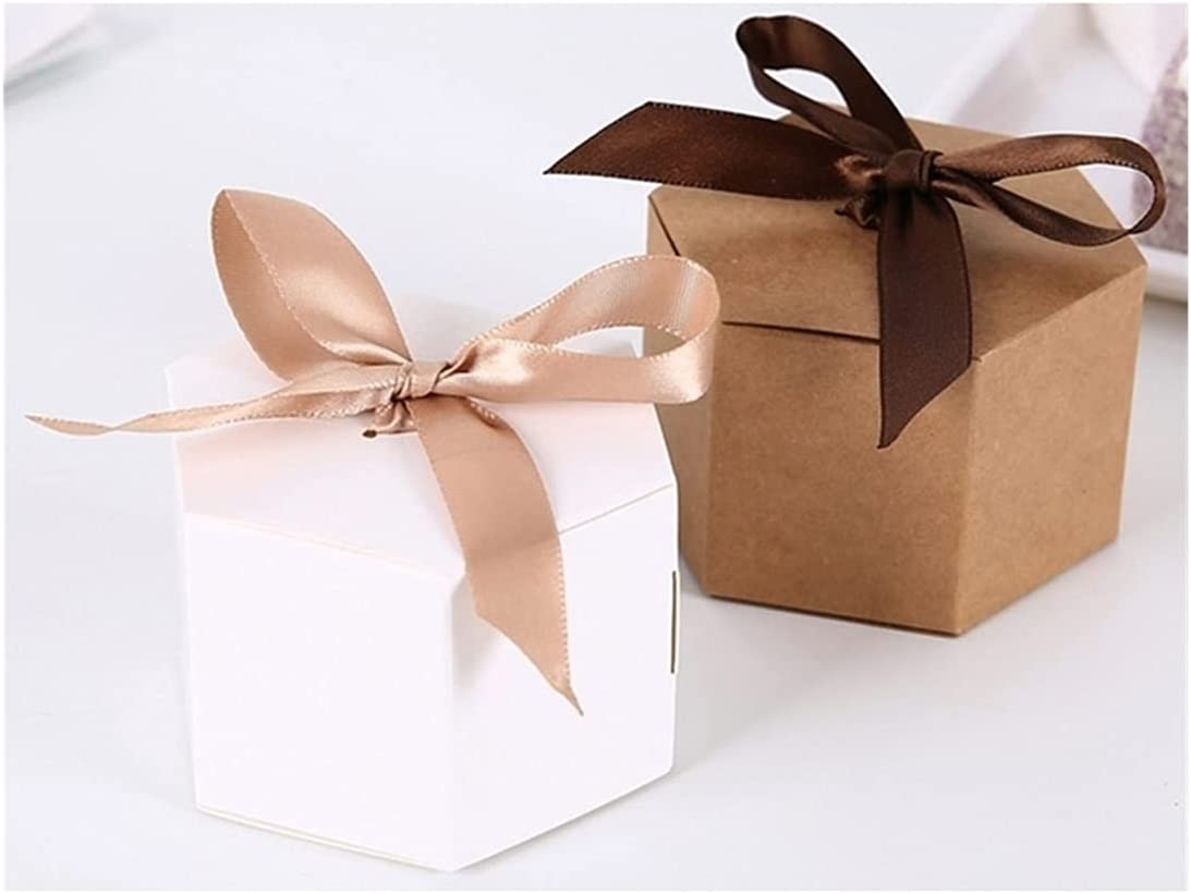 Alysays Useful 50pcs Vintage Kraft Sale Gift Box Boxes Rib Finally resale start with Candy