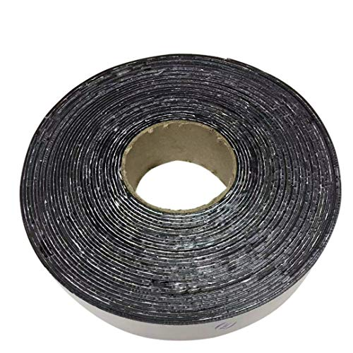 "EWT (615) Asphalt Tarmac Parking lot Joint and Crack Sealer Hot Repair Filler Tape 1"" ~ 4"" Wide & 50 FT Long (2 inchs)"