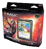 Magic The Gathering Legenden-Baraja Commander, Incluye 100 Cartas, Color Rojo y Blanco, versión Alemana (Wizards of The Coast C78591000)