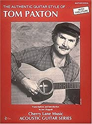 Tom paxton authentic guitar style gtr tab book