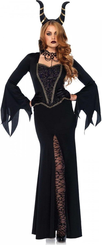 promociones de equipo Shoperama Evil encha ntress para Disfraz de Mujer Mujer Mujer Leg Avenue Malvado Reina Bruja Queen stief Tuerca  hasta 42% de descuento