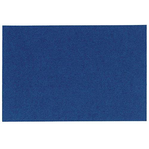 Kela 11805 Felia Set de Table Feutre Bleu 45 x 30 cm
