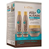 Kativa Kit Mantenimiento Post Alisado 3 Unidades -...