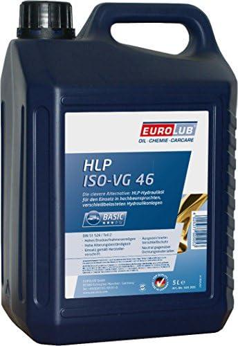 Eurolub 505005 Hlp 46 Iso Vg 46 Hydrauliköl 5 Liter Auto