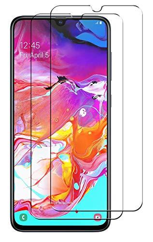 SDTEK *2 Pack Schutzglas für Samsung Galaxy A70 Panzerglas Glasfolie Hartglas Panzerfolie Tempered Glass Screen Protector Schutzfolie Displayschutzglas Samsung Galaxy A70