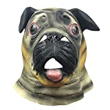 Máscara de Shar Pei, tocados de Animales, Dibujos Animados de...