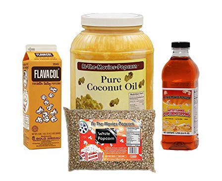 Coconut Oil-Popcorn-Flavacol With Buttery Topping Cash special Cheap super special price price
