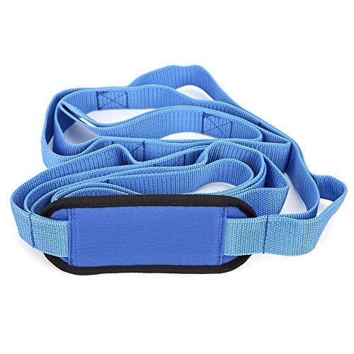 Aoutecen Multifunción Estable de la Correa de la Yoga del Equipo del Ejercicio para el Viaje para la Oficina(Blue)