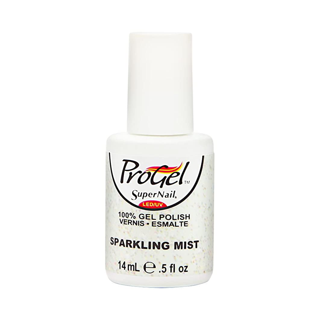 東男視線SuperNail ProGel Gel Polish - Sparkling Mist - 0.5oz/14ml
