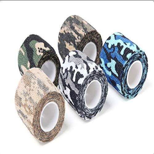 Camouflage Klebeband, for Tarnnetz Camo Netting Jalousien for die Jagd Camping.size Schießen: 4,92 Yard Long (nach dem Dehnen) * 1,97 Zoll Breite