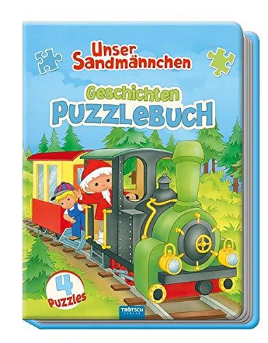 Trötsch Unser Sandmännchen Geschichten Puzzlebuch: Beschäftigungsbuch Entdeckerbuch Puzzlebuch