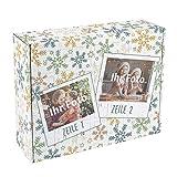 Herz & Heim® Foto-Adventskalender zum Befüllen - EIN individueller DIY Kalender für die Adventszeit
