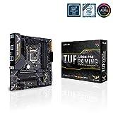 ASUS TUF Z390M-PRO GAMING (Wi-Fi) - Placa base Gaming mATX Intel de 8a y 9a gen. LGA1151 con OptiMem II, iluminación Aura RGB, DDR4 4266+ MHz, M.2 a 32 Gbps, Wi Fi AC, BT 5.0 y USB 3.1 Gen. 2 nativo
